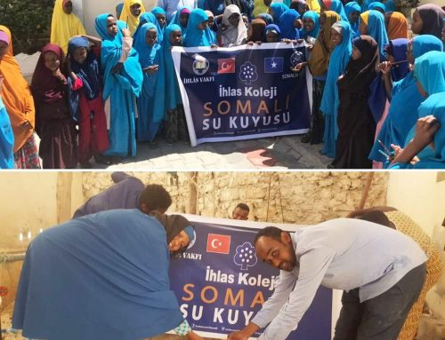İKHLAS FOUNDATION ASSOCIATES'S ASSISTANCE TO SOMALIA with the help of Somali Voice Organization.