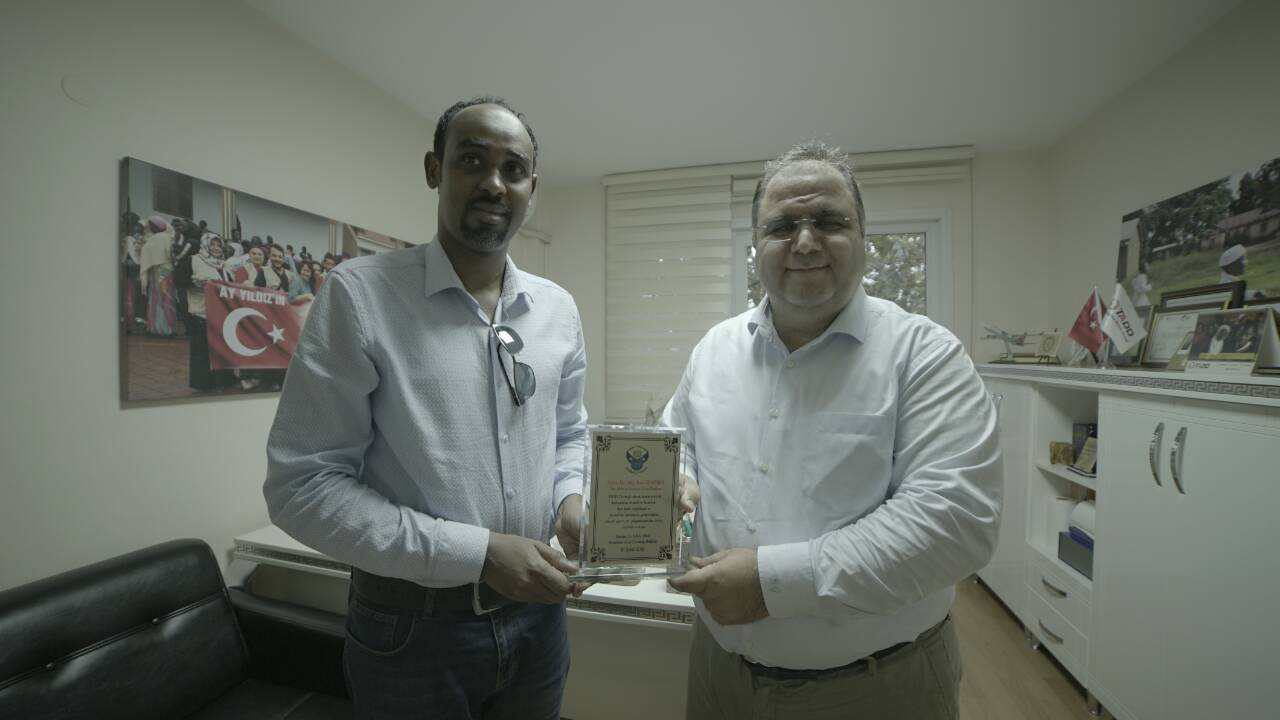 The Somali Voice Organization has awarded the honorary title to the TADD, thanking their assistance for the Somali people.