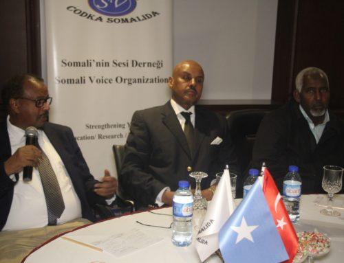 Somali Voice Organization organized a discussion panel