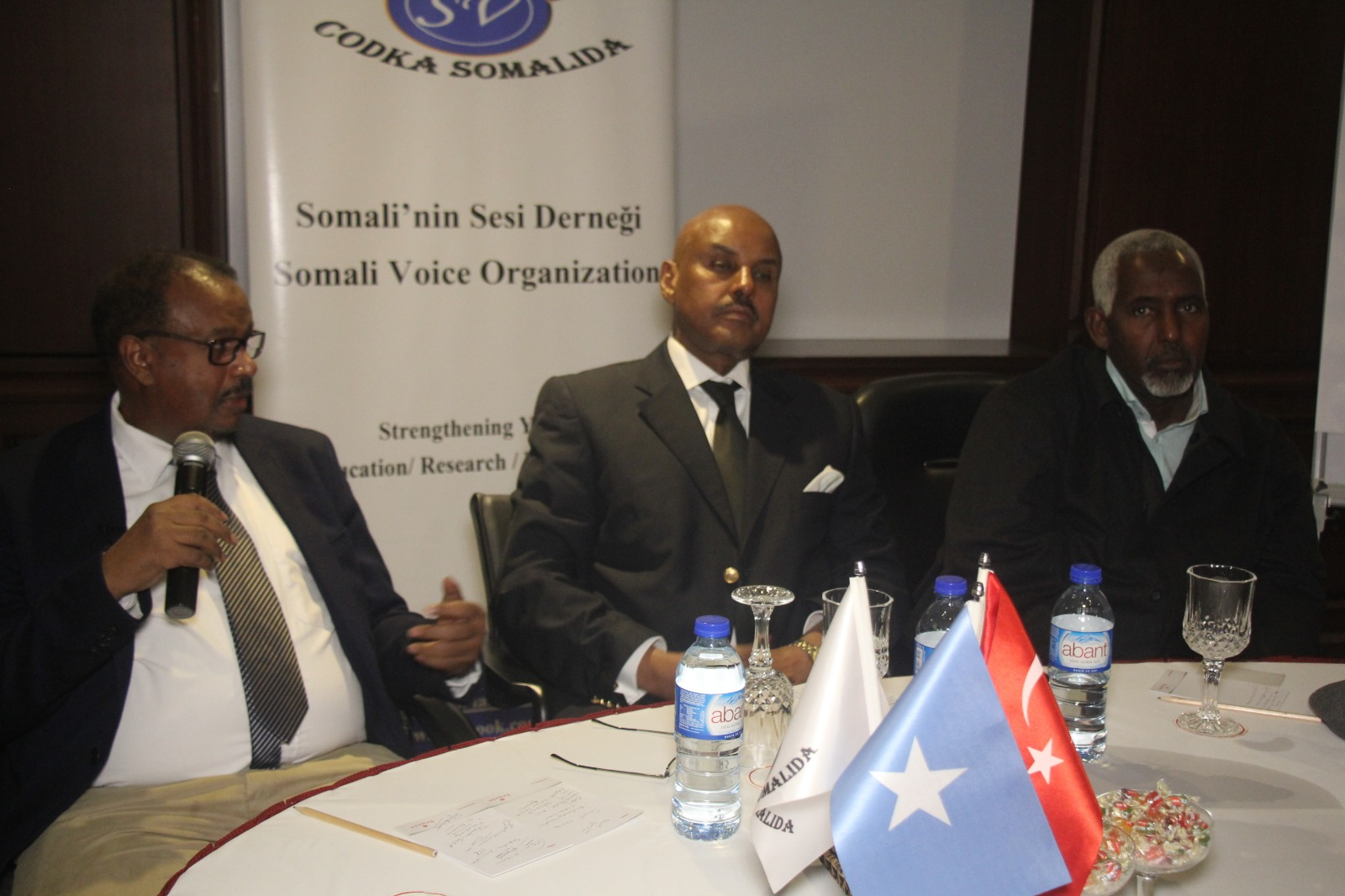 Somali Voice Organization organized a discussion panel